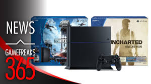 playstation 4 black friday bundle nathan drake amazon 300 ps4 console bundles extended for star wars battlefront and