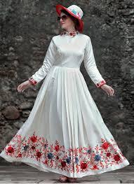 designer gown shop online canada white designer party wear gown