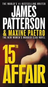 15th affair s murder club series 15 by patterson