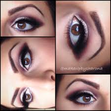 eye shadow makeup by sharona