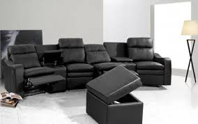 Electric Recliner Sofa Sofa Elegant 4 Seat Leather Reclining Sofa Power Ex Display