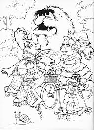 muppet babies pictures colouring pages 2 the smurfs baby