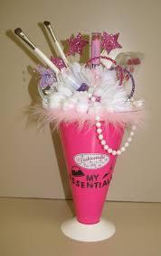 fashion makeup centerpiece pink party pinterest party