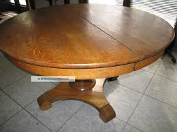 Antique Oak Dining Room Sets Antique Round Oak Dining Table Best Dining Table Ideas