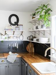 what to do with cabinets how to replace cabinets with open shelving diy