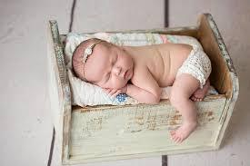 sale newborn crib prop antique white baby bed prop