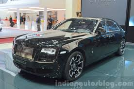 rolls royce 2016 rolls royce ghost black badge edition at 2016 geneva motor show