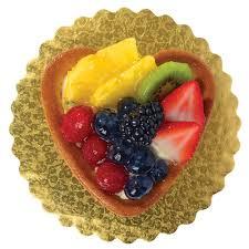 heart shaped items mini heart shaped fruit tart wegmans
