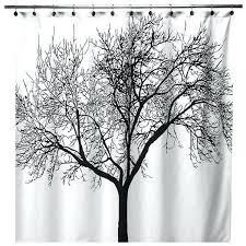 branch curtains house design
