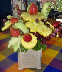 how to make fruit arrangements make a beautiful fruit bouquet that looks and is enough to