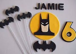 batman cake toppers edible batman cake toppers birthday cake decorations