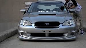 subaru legacy stance all things proper slammed legacy spec b youtube