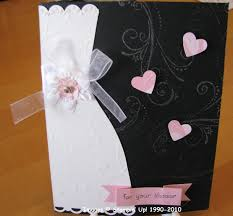 bridal cards bridal shower card sting with