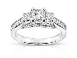 warren wedding rings sparkling solitaire engagement ring 1 carat cut diamond on
