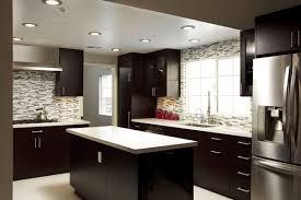 Adorable Kitchen Backsplash For Dark Cabinets  Interiorvues - Dark kitchen cabinets