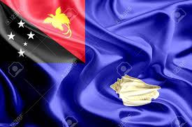 New Guinea Flag Flag Of West New Britain Papua New Guinea Stock Photo Picture