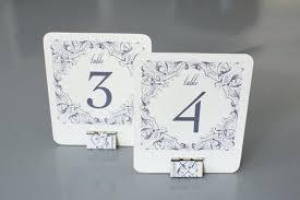 Vintage Table Number Holders Wedding Table Number Ideas Wooden Wedding Table Number Ideas 18
