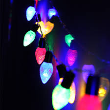 Colored Christmas Lights by Cone Battery Operated Led Christmas String Lights Torchstar