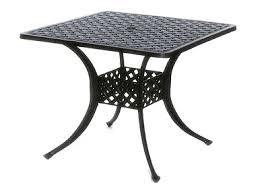 Square Patio Table Newport By Hanamint Luxury Cast Aluminum Patio Furniture 36