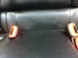 lexus brand leather cleaner issues with interior of ct200 polyurethane based nuluxe