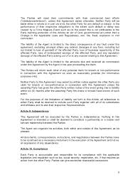 commission contract template commission agreement template 17