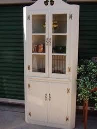 white corner china cabinet foter