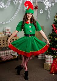 elf costume spirit halloween holiday elf costume for women
