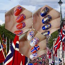 Norweigan Flag The Norwegian Flag And Confetti U2013 The Makeup Honey
