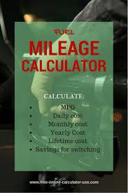 free online calculator les 25 meilleures idées de la catégorie fuel economy calculator