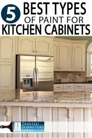 best type of paint to repaint kitchen cabinets the 5 best types of paint for kitchen cabinets painted
