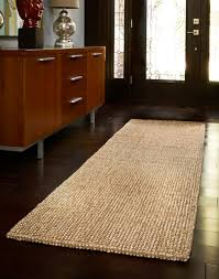 Fur Runner Rug Brown Striped Runner Rug Entryway Hallway Home Decor For