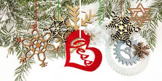 fablab tacoma laser cut ornaments holiday special