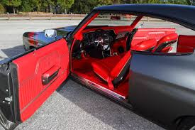T 72 Interior Project 72 Chevelle Rs1 Rs Ss Ss 1972 Red Grey Black Custom