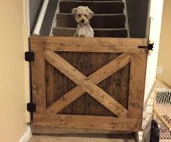 dog barn items similar to barn door pet gate on etsy