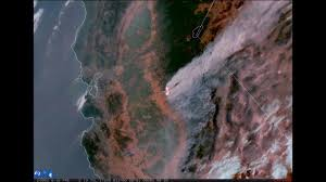 California Wildfire Fire Map by Devastating Wildfire Can Be Seen From Space