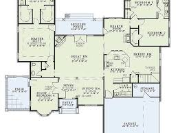 ranch house plans manor heart ideas with split bedroom floor all