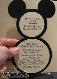 baby mickey invitations mickey mouse clubhouse