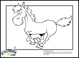 wild horse coloring pages to print free coloring pages