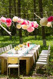 how to throw a garden party