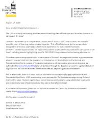 How To Write A Letter Of Intent For Scholarship by Orgsync Center For Student Involvement U0026 Leadership The