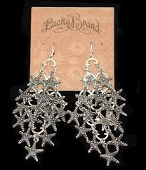 earrings brand lucky brand starfish drop earrings1 jpg