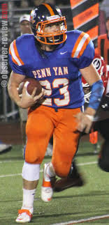 penn yan mustangs mustangs suffer 39 13 defeat observer review com