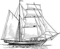 historical sailing ships and boats coloring pages ship drawing