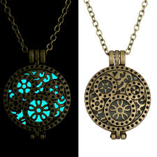 necklace women vintage images Rinhoo heart glowing pendant necklace glow in the dark pendant jpg