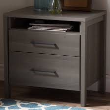 night stand south shore gravity 2 drawer nightstand reviews wayfair