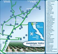 Map Of Yucatan Mexico by Guadalupe Valley Vineyard Tours Wine Tasting In Baja Wineries