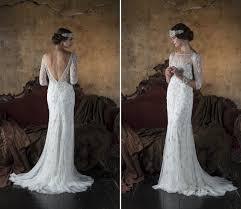 art deco wedding dress violetta from eliza jane howell chic