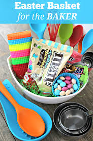 baking gift basket diy easter basket for the baker