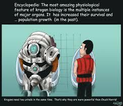 Funny Mass Effect Memes - mass effect 2 krogan biology by agregor on deviantart