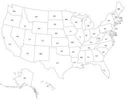 Usa Map By State by Tim Van De Vall Comics Printables For Kids Studying State